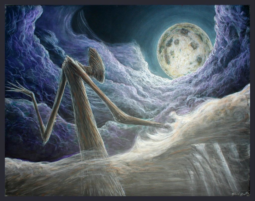 cloud monster moon